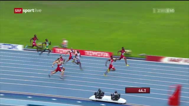 LA-WM: Final über 400 m Hürden