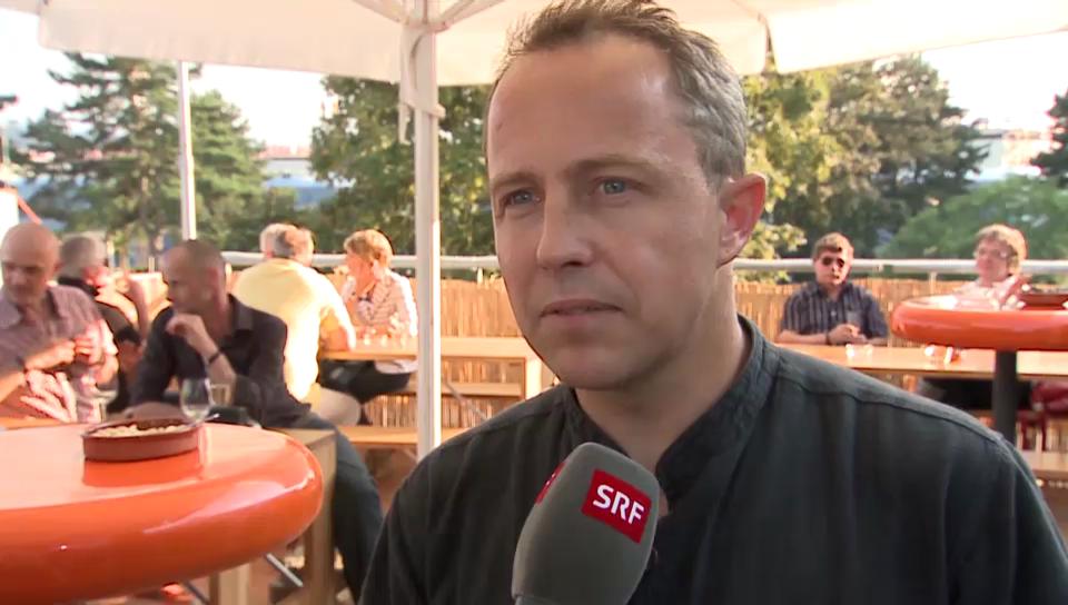 Fabien Rohrer wird Tai-Chi-Trainer