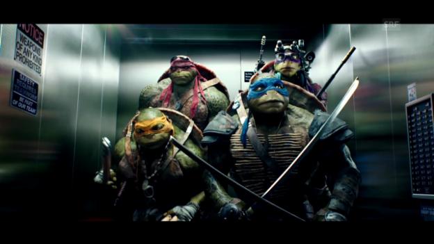 Video «Filmkritik: «Teenage Mutant Ninja Turtles»» abspielen