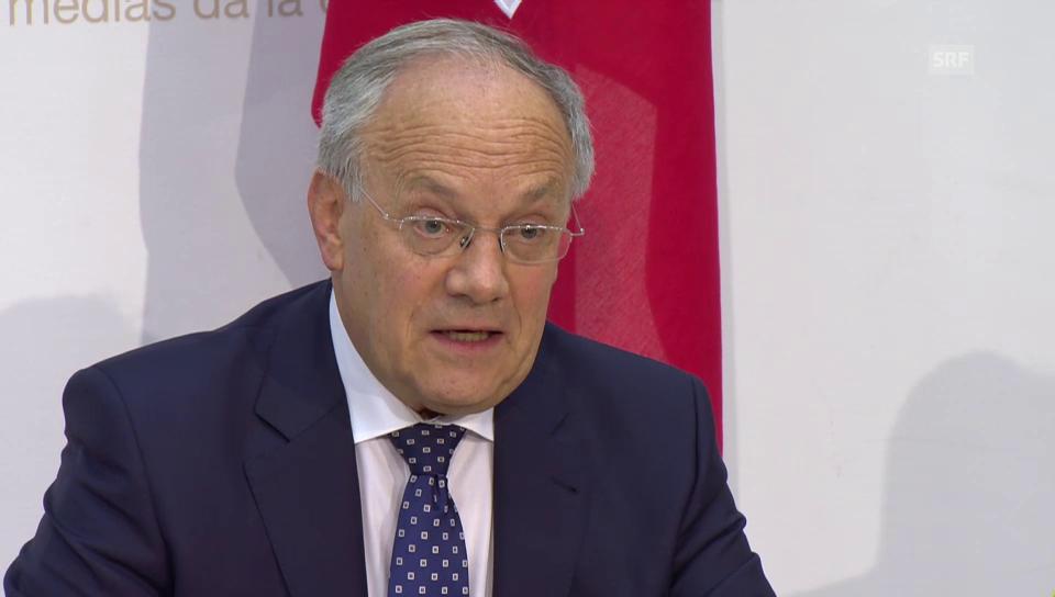 Schneider-Amman: «Haben Gesetzes-Entwurf offen formuliert»