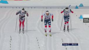 Video «Björgens 112. Weltcup-Sieg» abspielen