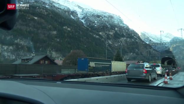 Video «Höhere Preise für Autoverlad kommen im Wallis schlecht an» abspielen