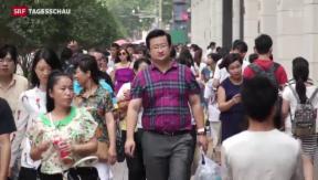 Video «Chinas Führung verliert die Aura der Unbesiegbaren» abspielen