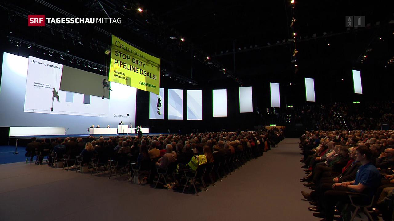 Generalversammlung der Credit Suisse