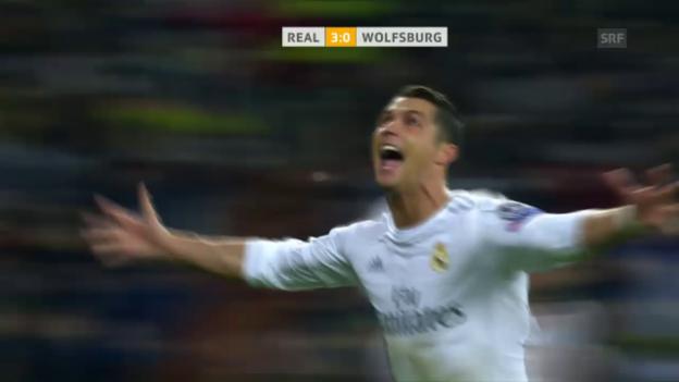 Video «Ronaldos Freistoss ins Glück» abspielen