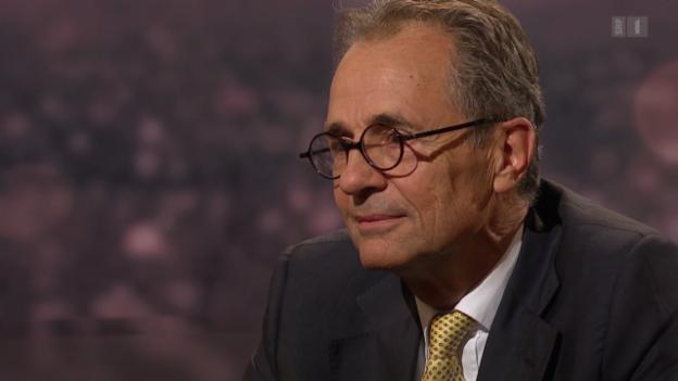 Video «Roger Schawinski im Gespräch mit Tim Guldimann» abspielen
