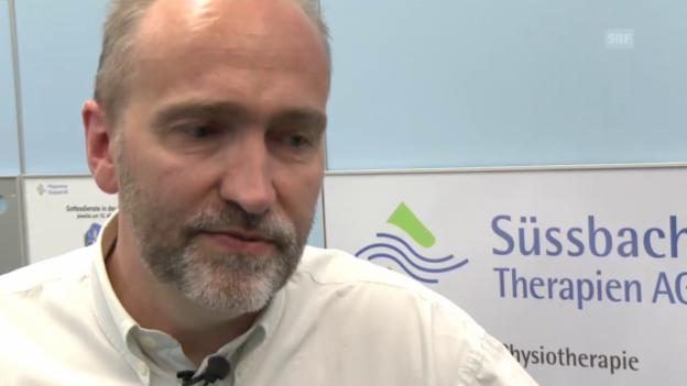 Video «Stefan Jäggi: «Man muss nicht immer sprechen.»» abspielen