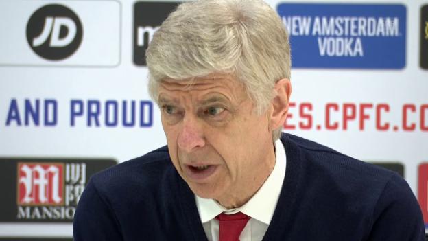 Video «Wenger: «Unangebracht, darüber zu sprechen» (engl., SNTV)» abspielen