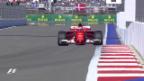 Video «Ferrari besticht im Qualifying von Sotschi» abspielen