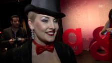 Video «Zoe Scarlett über ihr nicht extravagantes Oberteil» abspielen