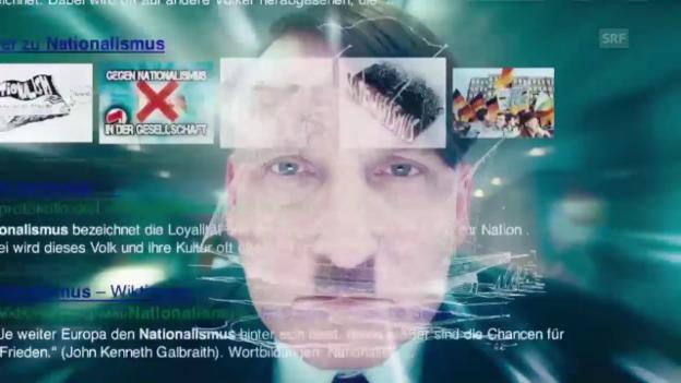 Video «Szene: Hitler zum ersten Mal online» abspielen