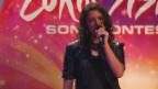 Video «Mélanie René aus Genf mit «Time To Shine»» abspielen