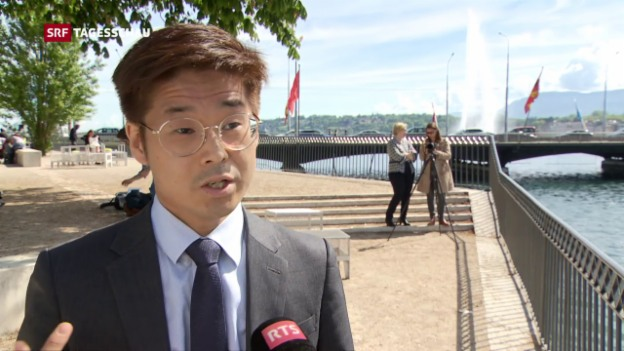 Video «Joachim Son-Forget will ins französische Parlament» abspielen