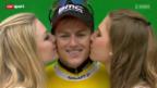 Video «Rad: 3. Etappe der Tour de Suisse» abspielen