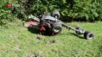 Video «Mehr Sicherheit im Traktor: Bauern fordern ein Umdenken» abspielen