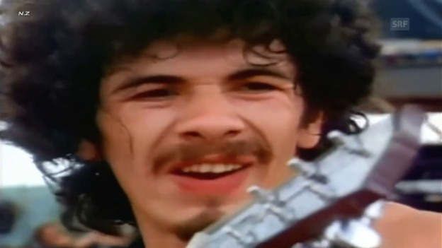 Video «Carlos Santana am «Woodstock»-Festival 1969» abspielen