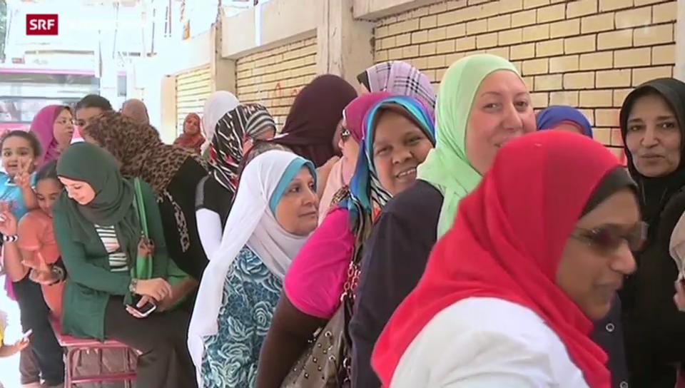 Ägypten wählt seinen Präsidenten und kaum jemand geht wählen