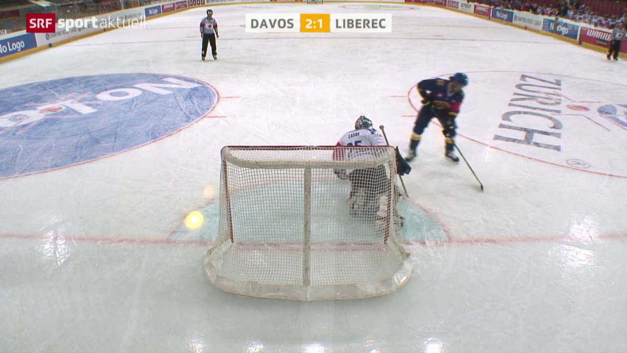 Eishockey: Champions League, Davos-Liberec