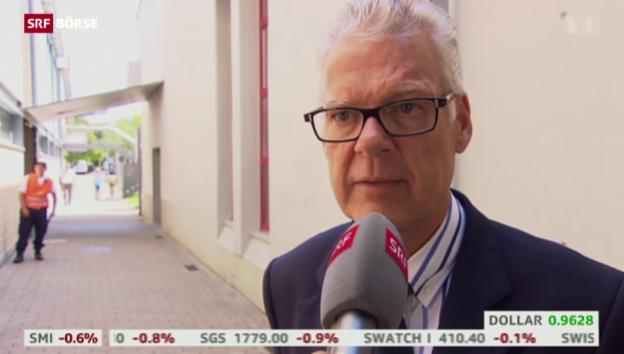 Video «SRF Börse vom 24.07.2015» abspielen