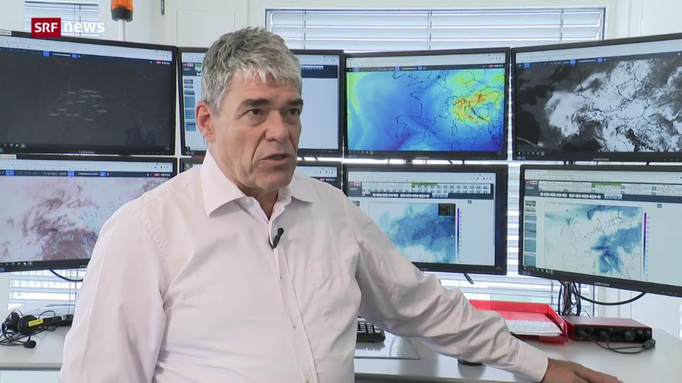 SRF-Meteorologe Felix Blumer zu den Wetteraussichten