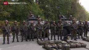 Video «Weiterentwicklung der Armee» abspielen