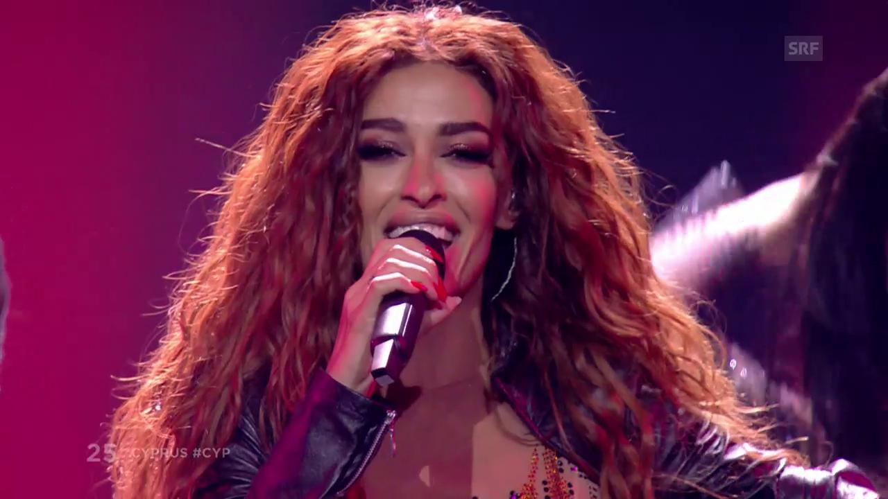 2. Platz: Zypern mit Eleni Foureira und «Fuego»
