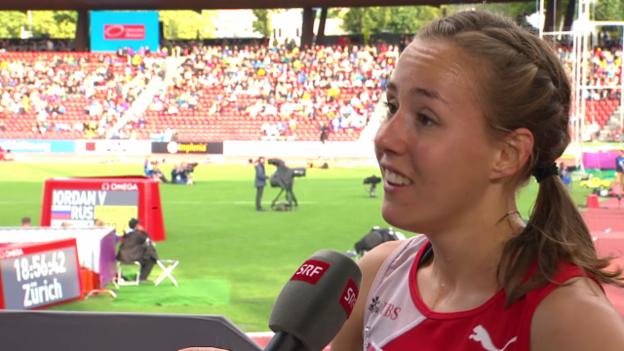 Video «Leichtathletik: Selina Büchel im Interview» abspielen