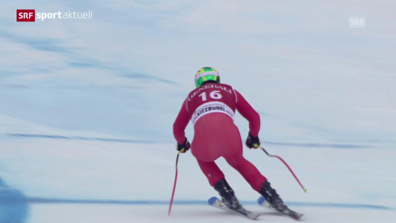 Ski Alpin: Super-G in Kitzbühel («sportaktuell»)