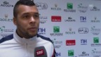 Video «Tennis: Jo-Wilfried Tsonga im Interview» abspielen