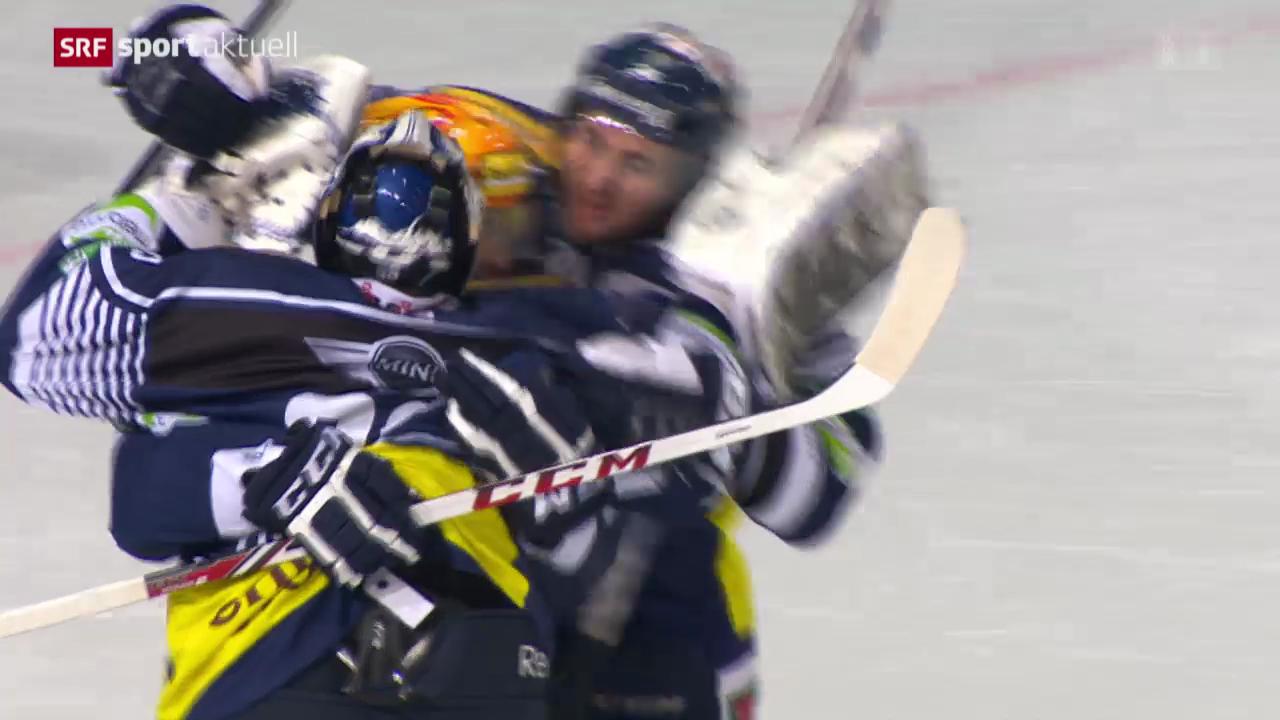Eishockey: Ambri - Zug