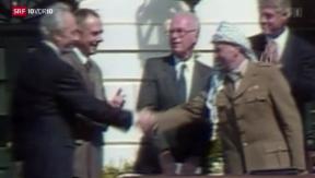 Video «Jassir Arafat wahrscheinlich vergiftet» abspielen