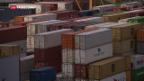 Video «Rekordjahr für Schweizer Rheinhäfen» abspielen