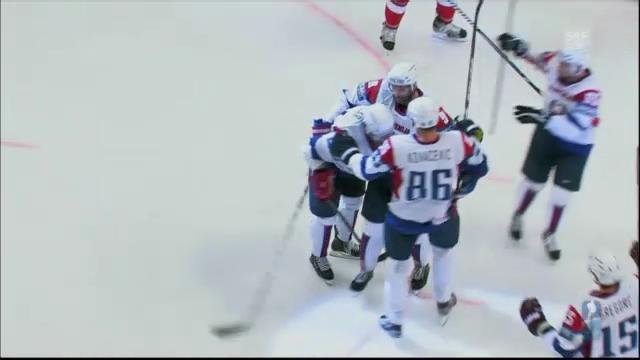 Eishockey-WM: Tschechien - Slowenien («sportaktuell»)
