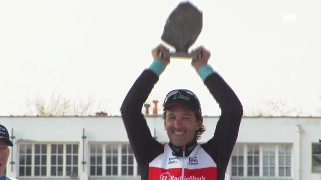 Siegerehrung mit Cancellara