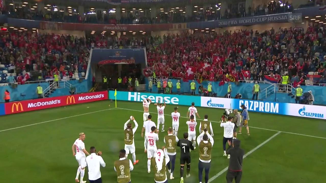 Zusammenfassung Serbien-Schweiz