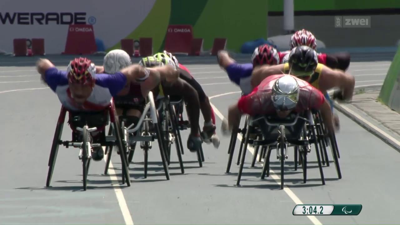 Paralympics: Das 5000-m-Rennen mit Marcel Hug