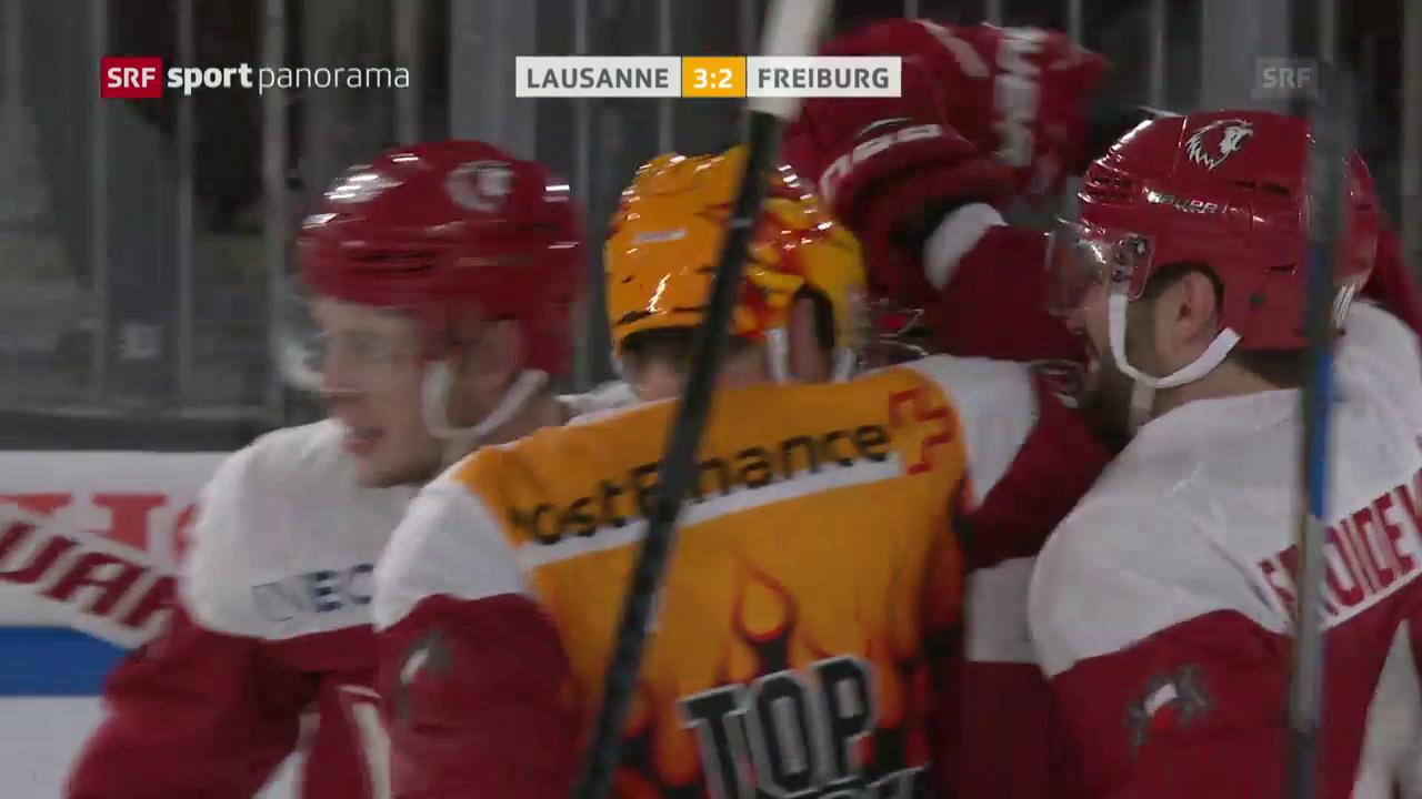 Lausanne schlägt Freiburg mit dem 16. Penalty