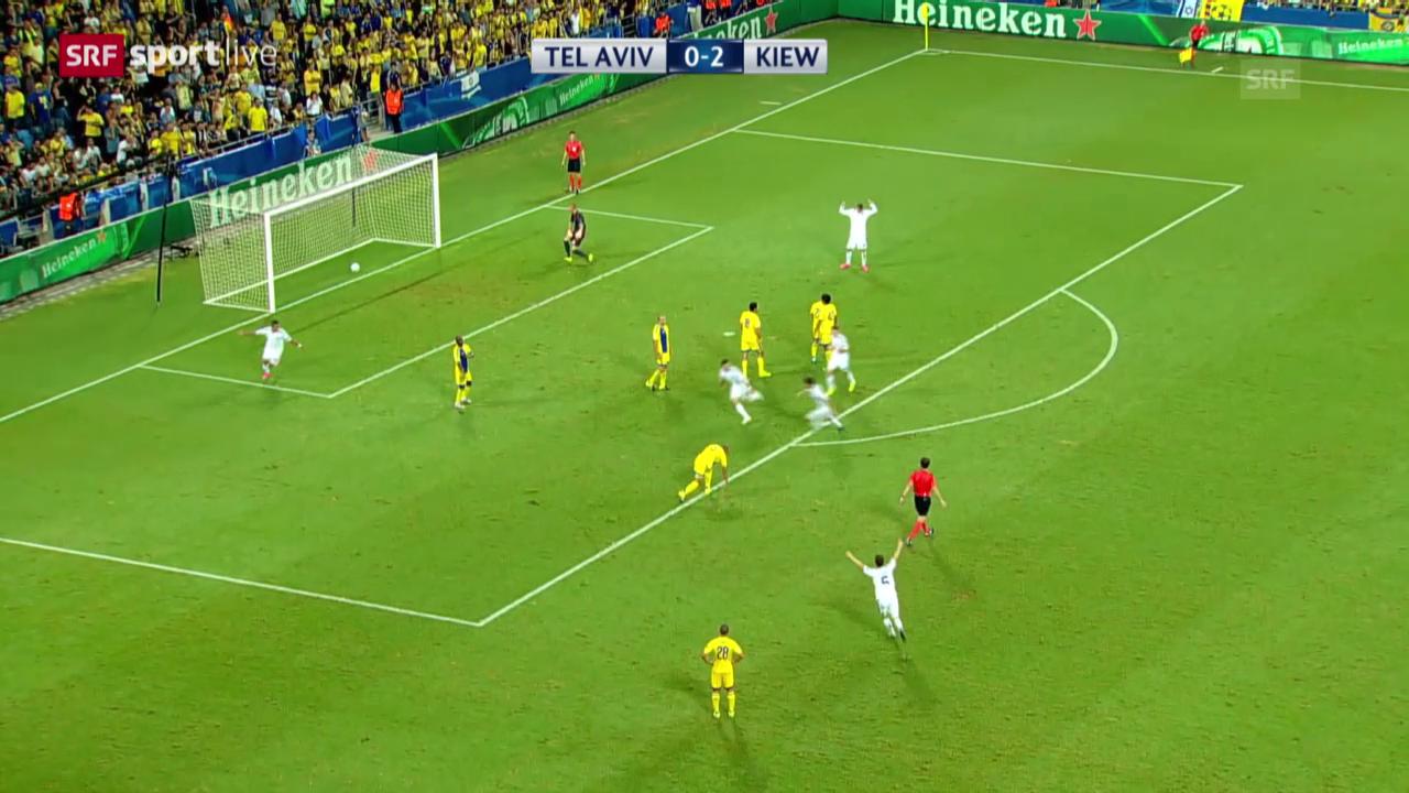 Fussball: Champions League, Gruppenphase, 2. Spieltag, Maccabi Tel Aviv - Dynamo Kiew