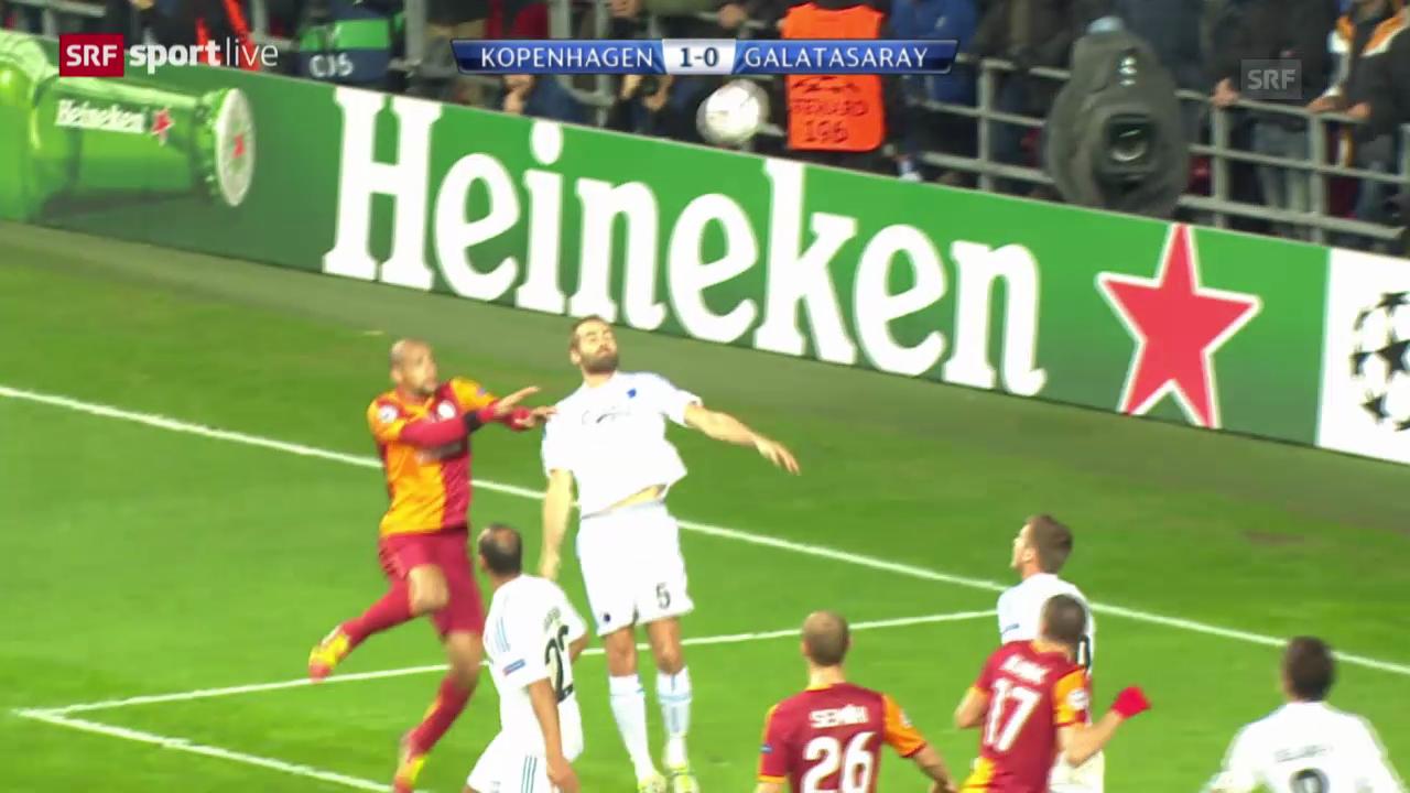 CL: Kopenhagen - Galatasaray («sportlive»)