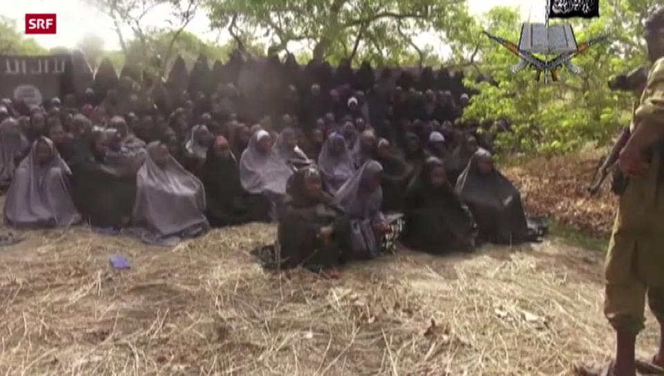 Ein Lebenszeichen der nigerianischen Schülerinnen