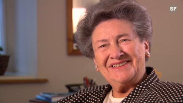 Video «Rosmarie Michel, ehemalige Unternehmerin» abspielen