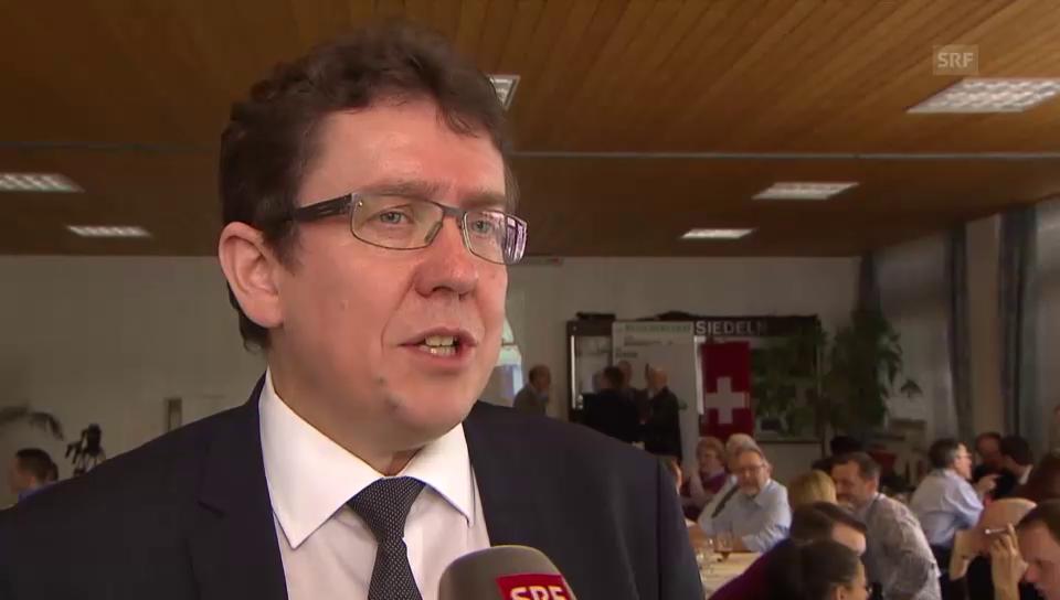 Albert Rösti zum Aus der DSI-Initiative