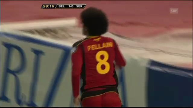 WM-Quali: Belgien-Serbien