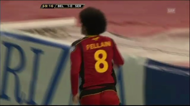 Video «WM-Quali: Belgien-Serbien» abspielen