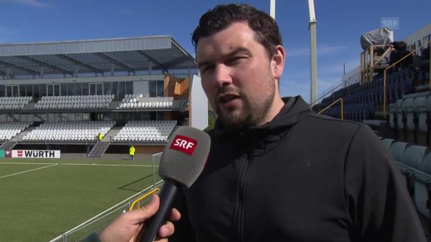 Video «Sportjournalist Arge über den Fussball auf den Färöern» abspielen