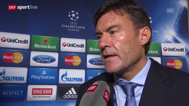 Video «Interview mit UEFA-Sprecher Lars Behrendt («sportlive»)» abspielen