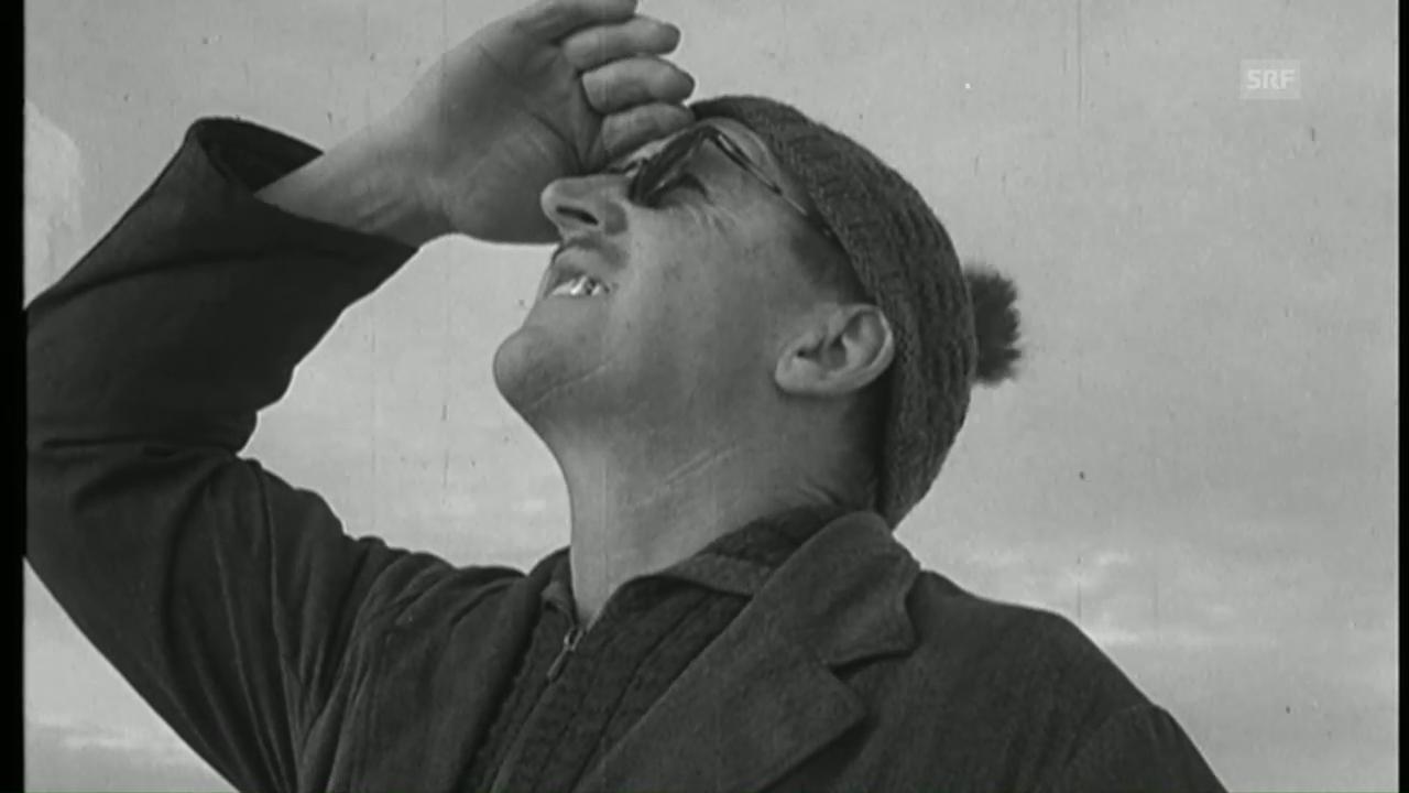 Wetterbericht (Schweizerische Filmwochenschau vom 25. März 1949)