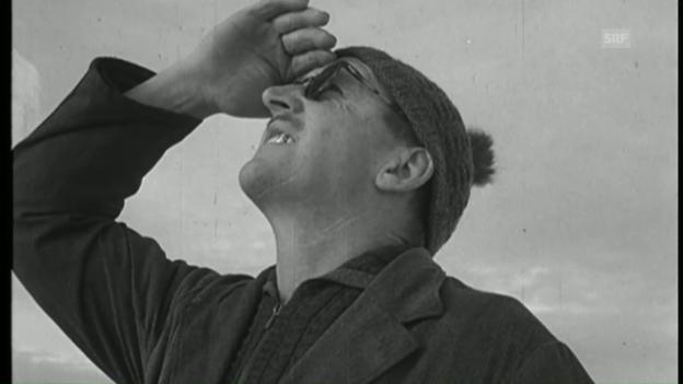 Video «Wetterbericht (Schweizerische Filmwochenschau vom 25. März 1949)» abspielen