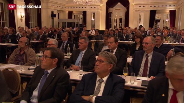 Video «Ständerat packt Reform der Altersvorsorge an» abspielen