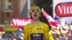 Video «Thomas gewinnt auf der Alpe d'Huez» abspielen